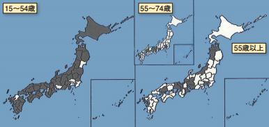 総務省「平成25年住民基本台帳人口移動報告」より